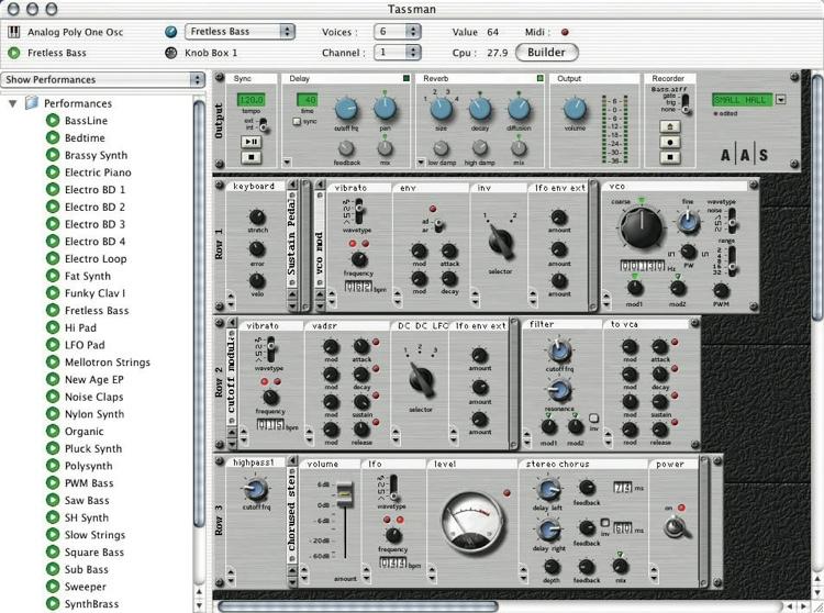Applied Acoustics Systems Tassman 4 Sound Synthesis Studio image 1