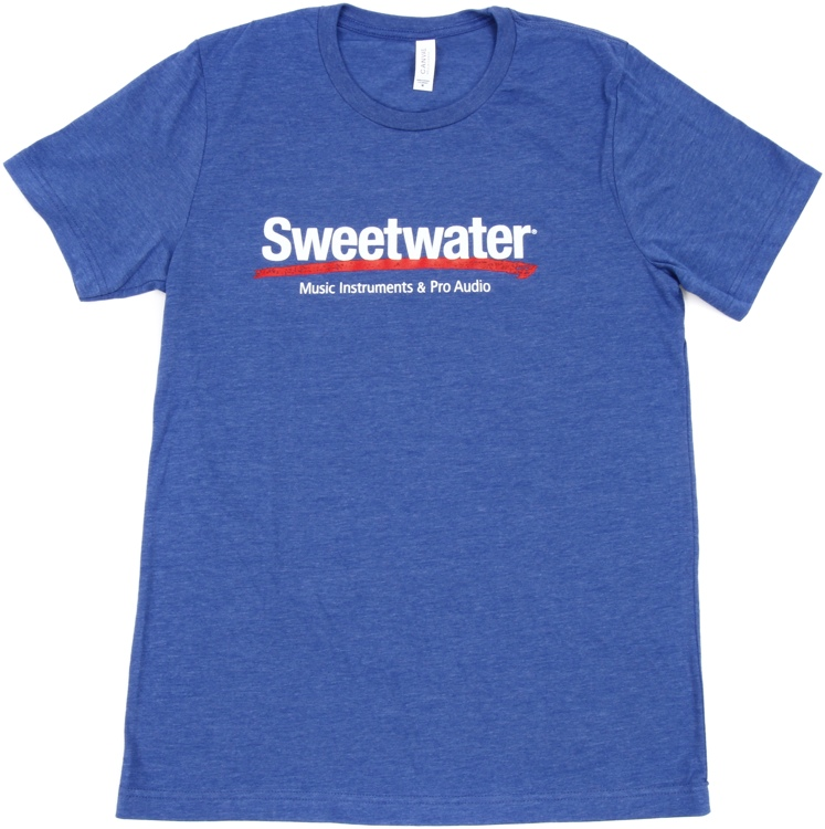 Sweetwater Logo T-shirt - Royal Blue, Medium image 1
