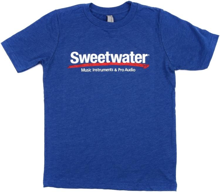 Sweetwater Logo T-shirt - Royal Blue, Youth Medium image 1