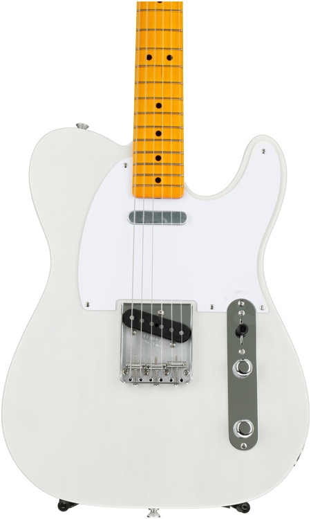 Fender Classic Series \'50s Telecaster, Lacquer - White Blonde, Maple fingerboard image 1