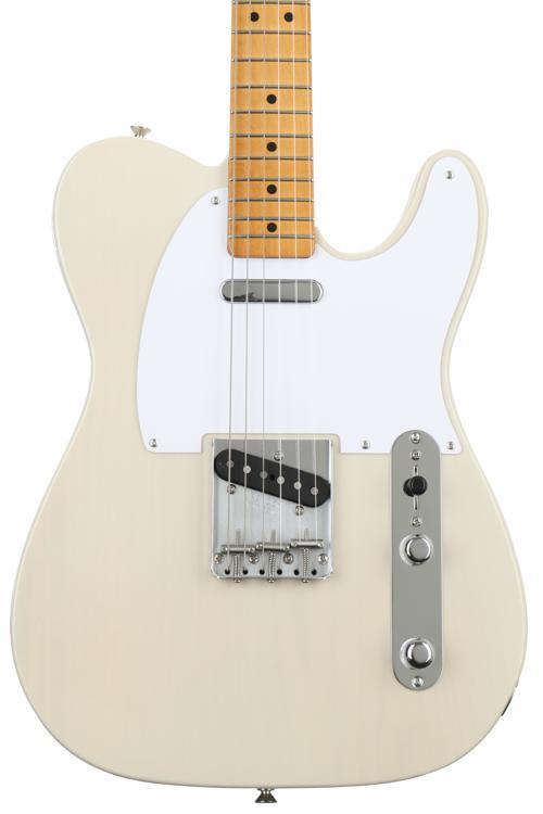 Fender Classic \'50s Telecaster - White Blonde, Maple fingerboard image 1
