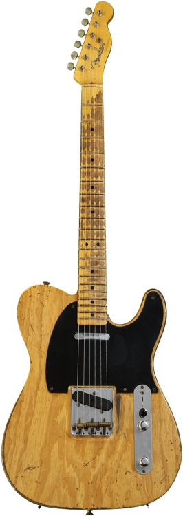 Fender Custom Shop Sweetwater \'52 Telecaster - Aged Natural, Heavy Relic image 1