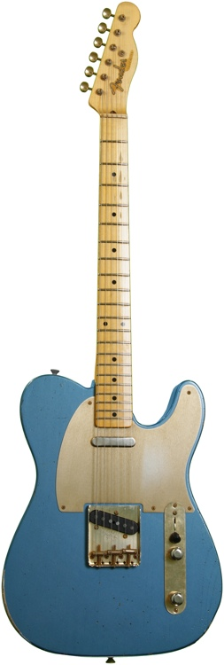 Fender Custom Shop 1952 Relic Telecaster - Aged Lake Placid Blue image 1