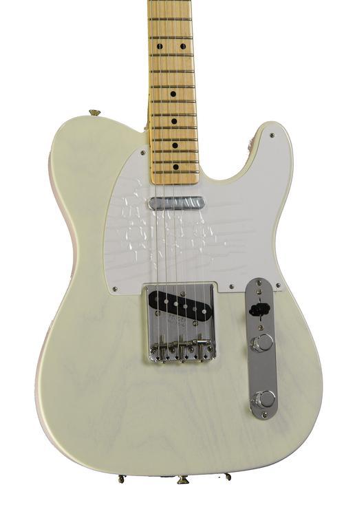 Fender American Vintage \'58 Telecaster - Aged White Blonde image 1