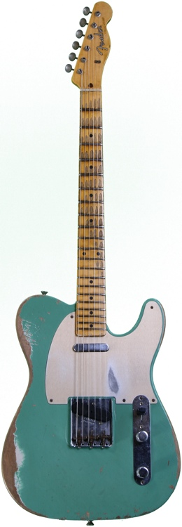 Fender Custom Shop Limited Edition 1959 Heavy Relic Telecaster - Celadon Green, Heavy Relic image 1