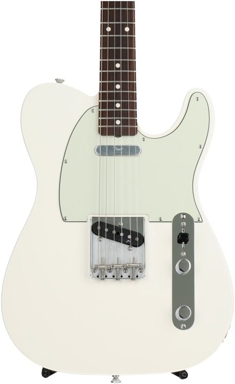 Fender Classic \'60s Telecaster - Olympic White with Rosewood Fingerboard image 1