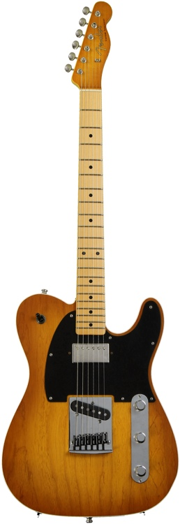 Fender Custom Shop Sweetwater Mod Squad \'62 Telecaster Custom - Honey Burst, Closet Clsc, Tele image 1