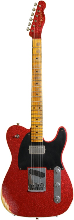 Fender Custom Shop Sweetwater Mod Squad \'62 Telecaster Custom - Red Sparkle, Heavy Relic. Tele image 1