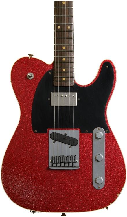 Fender Custom Shop Sweetwater Mod Squad \'62 Telecaster Custom - Red Sparkle, Hvy Relic, Tele image 1