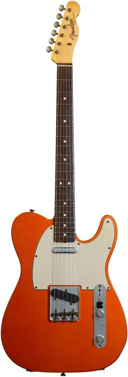 Fender Custom Shop 1963 Custom Relic Telecaster - Candy Tangerine image 1