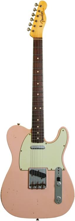 Fender Custom Shop 1963 Custom Relic Telecaster - Shell Pink image 1