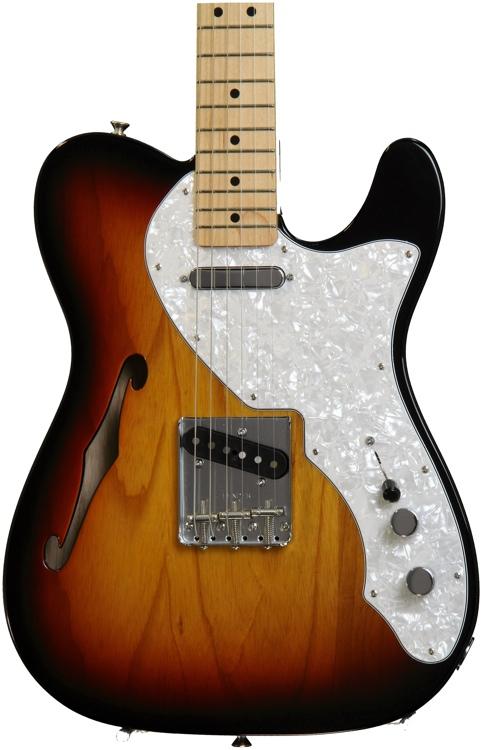 Fender Classic \'69 Telecaster Thinline - 3-Tone image 1