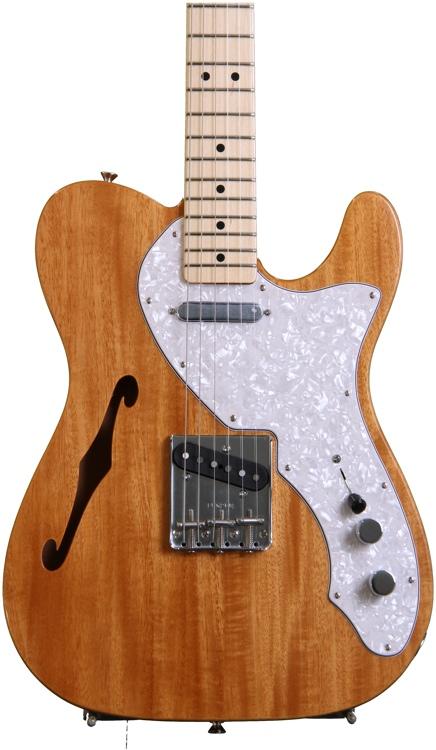 Fender Classic \'69 Telecaster Thinline - Natural (Mahogany) image 1