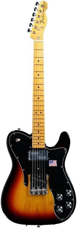 Fender American Vintage \'72 Tele Custom - Custom 3 Tone Sunburst image 1
