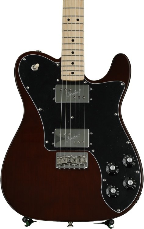 Fender \'72 Telecaster Deluxe - Walnut Stain with Maple Fingerboard image 1