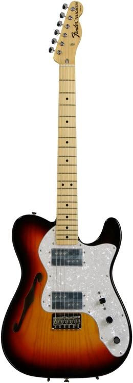 Fender FSR American Vintage \'72 Telecaster Thinline - FSR Thinline 3SB image 1
