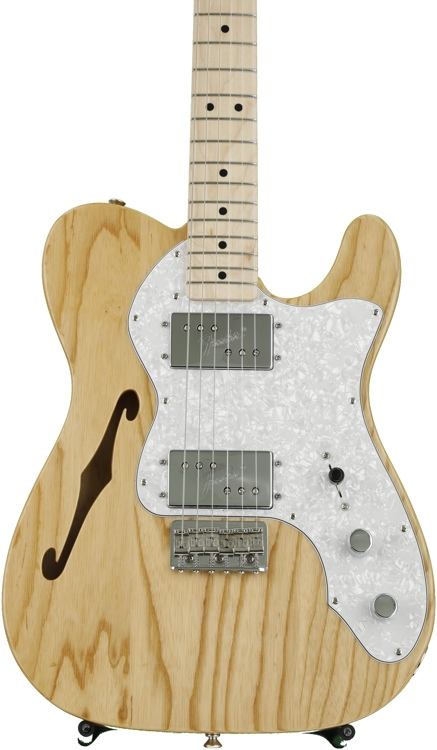 Fender \'72 Telecaster Thinline - Natural with Maple Fingerboard image 1