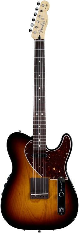 Fender Acoustasonic Tele - 3-Tone Sunburst image 1