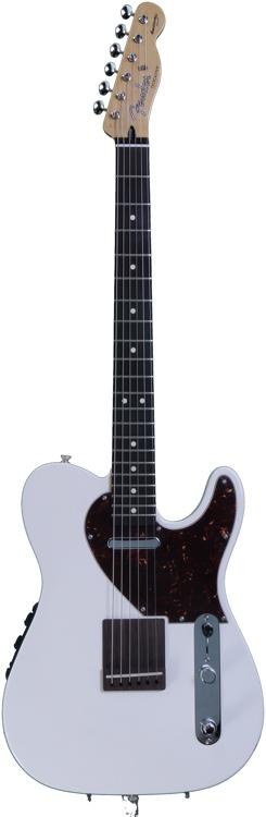 Fender Acoustasonic Tele - Olympic White image 1