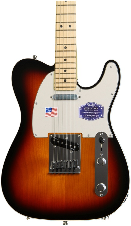 Fender American Deluxe Telecaster - 3-Color Sunburst, Maple image 1