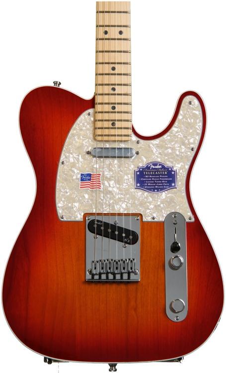 Fender American Deluxe Telecaster - Aged Cherry Burst, Maple image 1