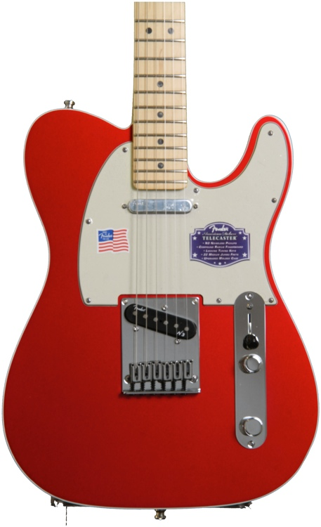 fender american deluxe telecaster candy apple red maple sweetwater. Black Bedroom Furniture Sets. Home Design Ideas