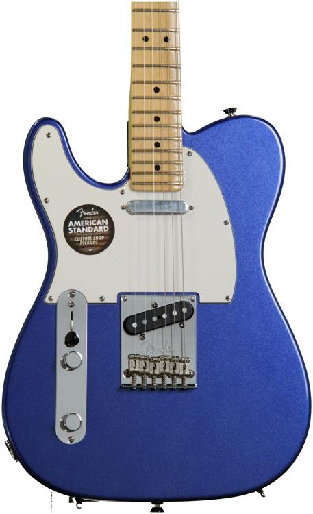 Fender American Standard Telecaster - Mystic Blue, Maple, Left Handed image 1