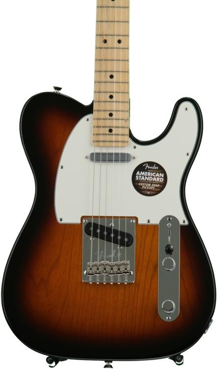 Fender American Standard Telecaster - 2-color Sunburst with Maple Fingerboard image 1