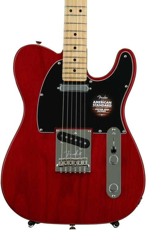 Fender American Standard Telecaster - Crimson Red Transparent with Maple Fingerboard image 1