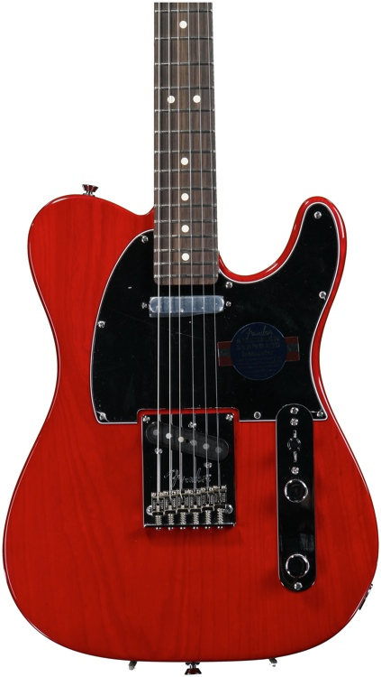Fender American Standard Telecaster - Crimson Red Transparent with Rosewood Fingerboard image 1