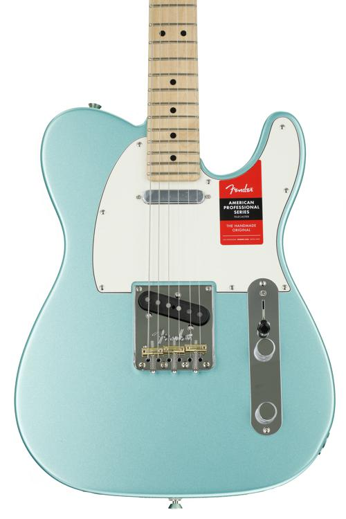 Fender American Professional Telecaster - Mystic Seafoam with Maple  Fingerboard