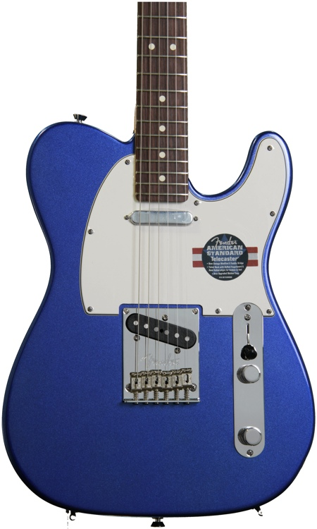 Fender American Standard Telecaster - Mystic Blue, Rosewood image 1