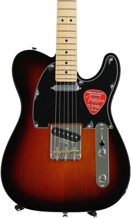 Fender American Special Telecaster - 3-tone Sunburst, Maple fingerboard image 1