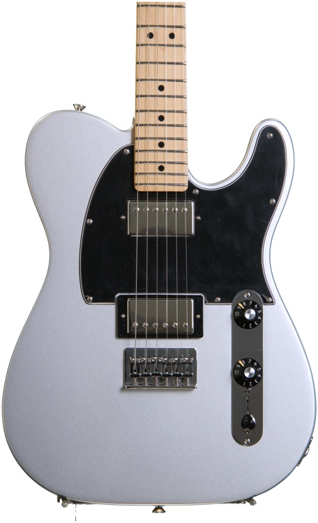 Fender Blacktop Telecaster HH - Silver, Maple image 1