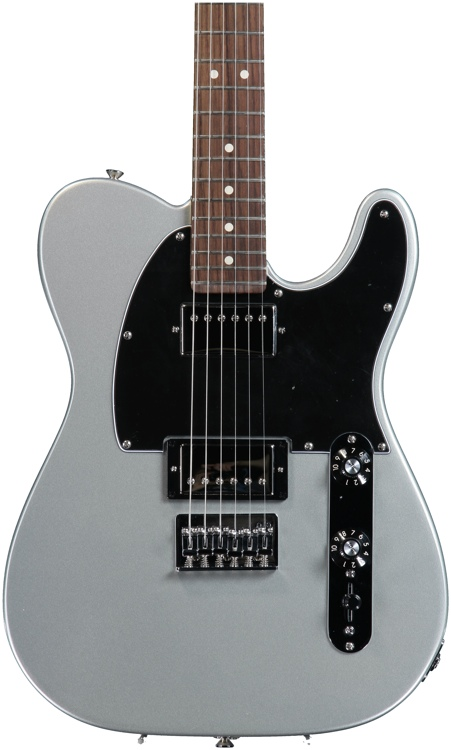 fender blacktop telecaster hh silver rosewood sweetwater. Black Bedroom Furniture Sets. Home Design Ideas