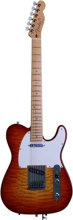 Fender Custom Shop 2012 Custom Deluxe Telecaster - Cherry Sunbu image 1