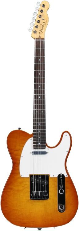 Fender Custom Shop Custom Deluxe Telecaster - Honey Burst image 1