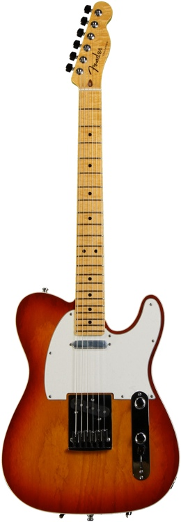 Fender Custom Shop Bound Custom Deluxe Telecaster Special - Aged Cherry Sunburst image 1