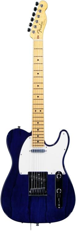 Fender Custom Shop Custom Deluxe Telecaster Special - Cobalt Blue Transparent image 1
