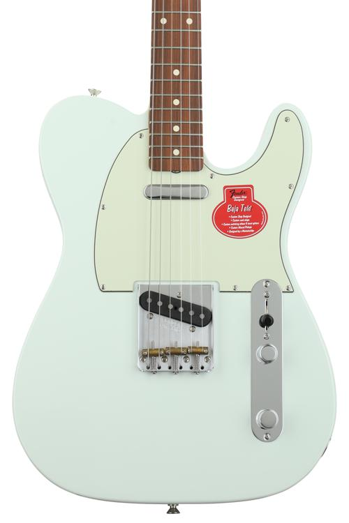 Fender classic player baja 39 60s telecaster faded sonic blue with pau ferro fingerboard - Fax caser bajas ...