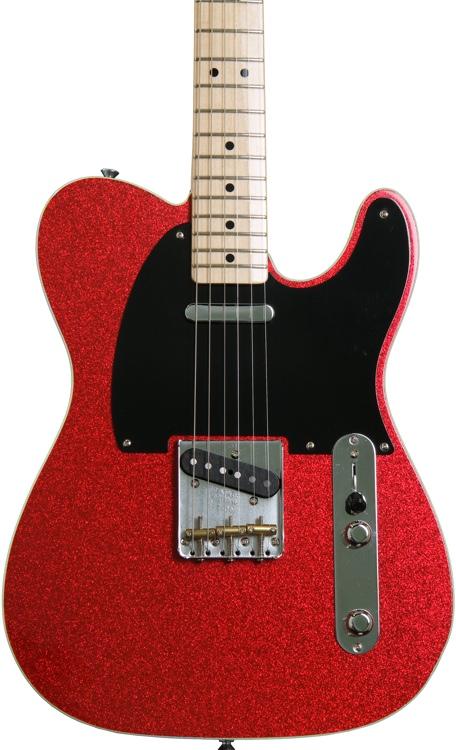 Fender Custom Shop Dual Tone Top Bound Telecaster NOS - Red Sparkle/Blue Sparkle image 1