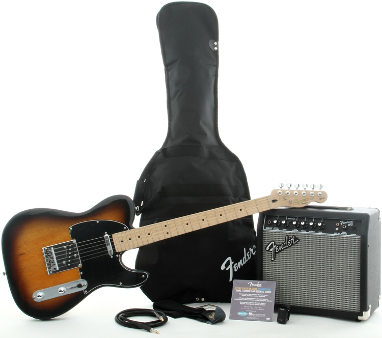 Squier Affinity Tele Pack with Frontman 15G Amplifier - Brown Sunburst  image 1