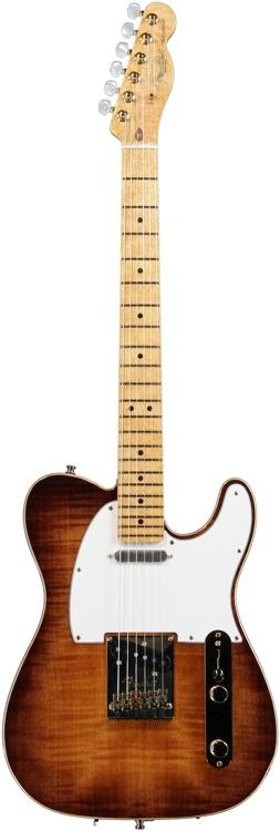 Fender Select Telecaster - Violin Burst-Gold Hardware image 1
