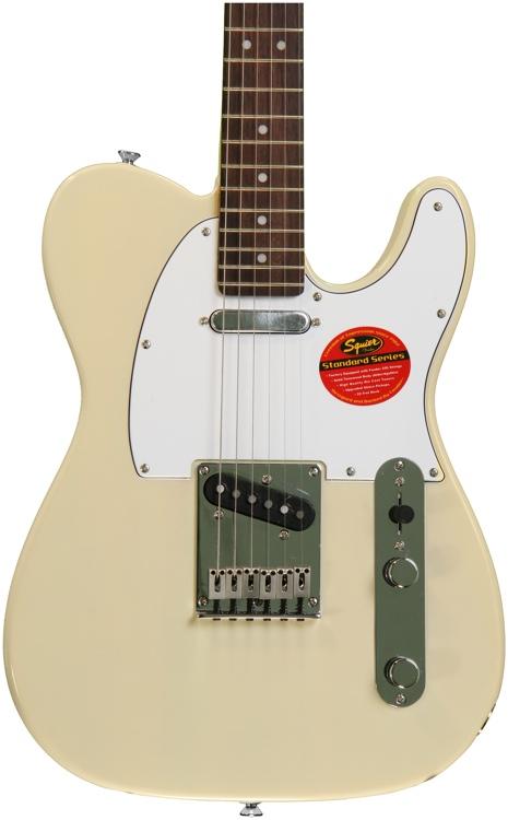 Squier Standard Telecaster - Vintage Blonde with Rosewood Fingerboard image 1