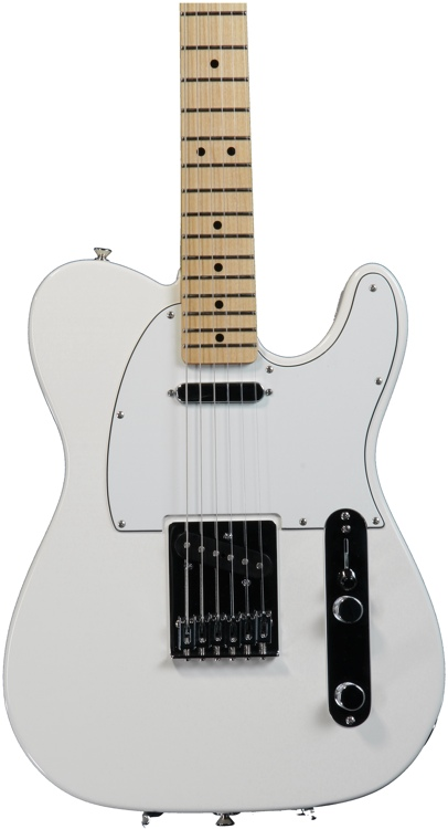 Fender Standard Telecaster - Arctic White with Maple Fingerboard image 1