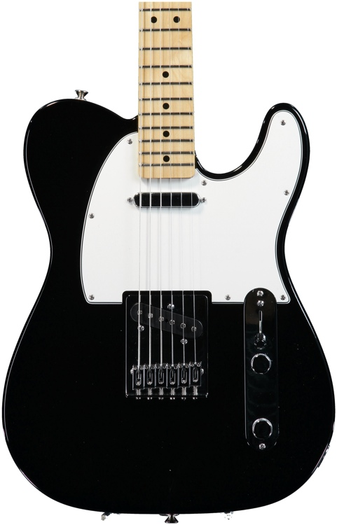 Fender Standard Telecaster - Black with Maple Fingerboard image 1