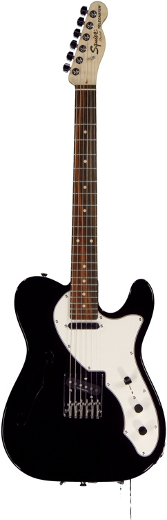 Squier Vintage Modified Telecaster Thinline - Black image 1