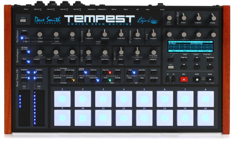 Dave Smith Instruments Tempest Analog Drum Machine and Synth image 1