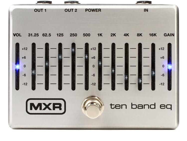 MXR M108S Ten Band EQ Pedal image 1