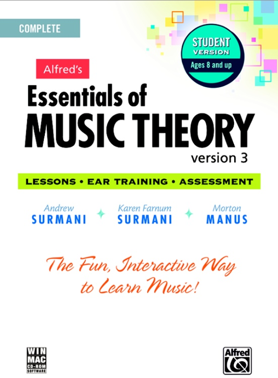 Alfred Essentials of Music Theory 1-3 - Networked Lab Additional User image 1